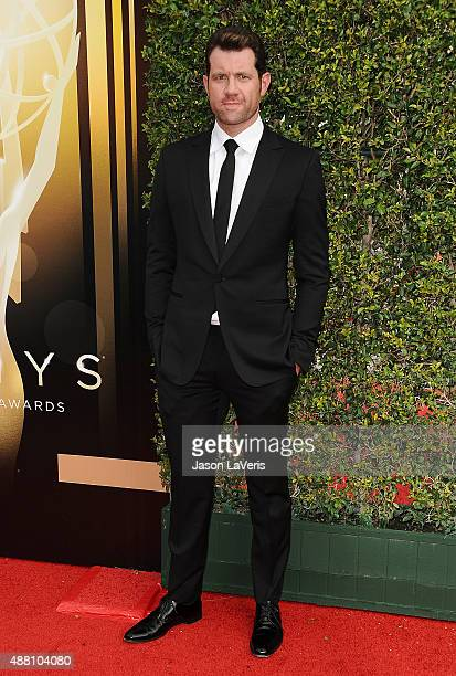 Billy Eichner attends the 2015 Creative Arts Emmy Awards at Microsoft Theater on September 12 2015 in Los Angeles California