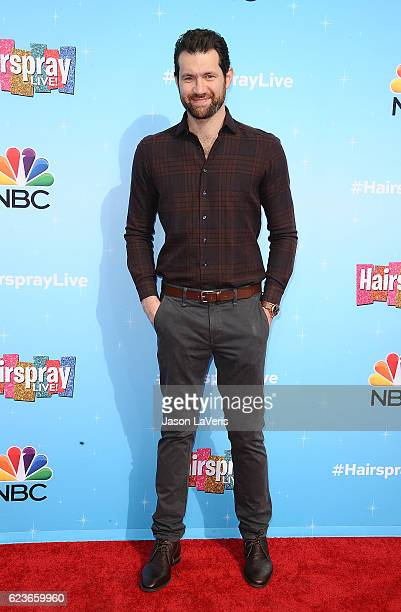 Billy Eichner attends the press junket for NBC's 'Hairspray Live' at NBC Universal Lot on November 16 2016 in Universal City California