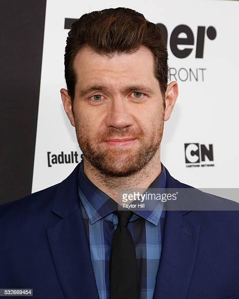 Billy Eichner attends the Turner Upfront 2016 arrivals at The Theater at Madison Square Garden on May 18 2016 in New York City