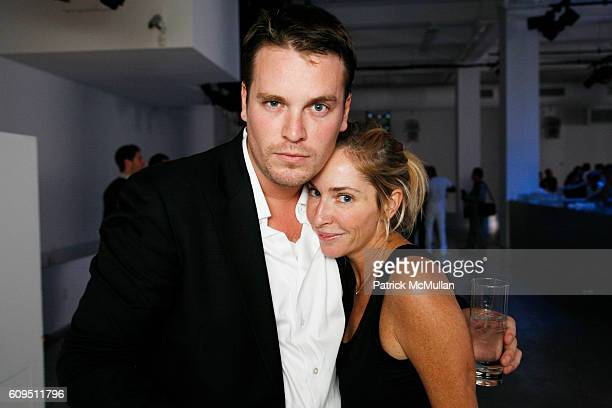Billy Farrell and Lauryn Flynn attend CALVIN KLEIN UNDERWEAR 25th Anniversary Party hosted by DJIMON HOUNSOU and HILARY SWANK at Calvin Klein...