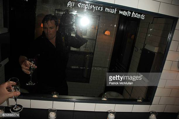Billy Farrell attends Private Dinner hosted by CARLOS JEREISSATI CEO of IGUATEMI at Pastis on September 6 2008 in New York City