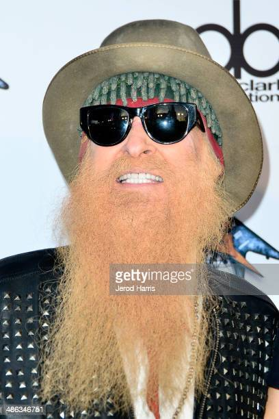 Billy Gibbons arrives at the 2014 Revolver Golden Gods Awards at Club Nokia on April 23 2014 in Los Angeles California