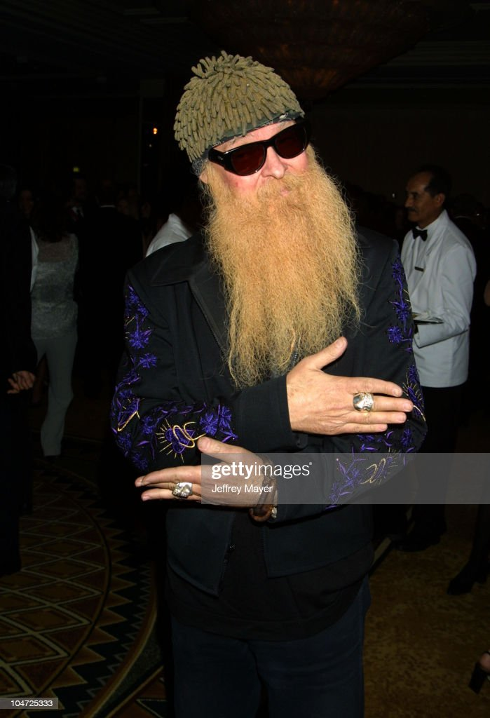 Billy Gibbons during 2002 BMI Pop Awards at Regent Beverly Wilshire in Beverly Hills, California, United States.
