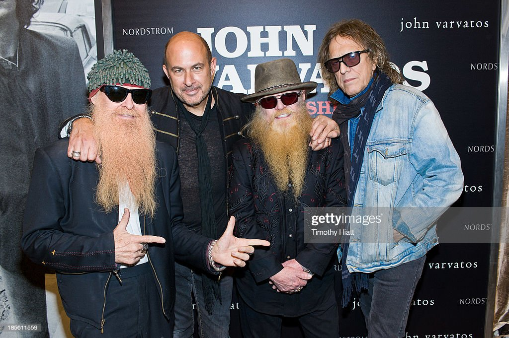 John Varvatos Personal Book Signing Appearance With Mick Rock And ZZ Top