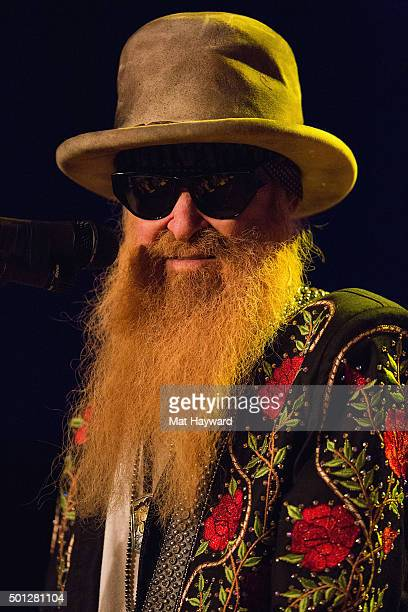 Billy Gibbons of Billy Gibbons of the BFGs performs on stage at Neptune Theatre on December 13 2015 in Seattle Washington