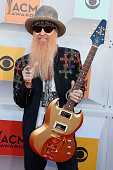 Billy Gibbons of ZZ Top attends the 51st Academy Of Country Music Awards at MGM Grand Garden Arena on April 3 2016 in Las Vegas Nevada