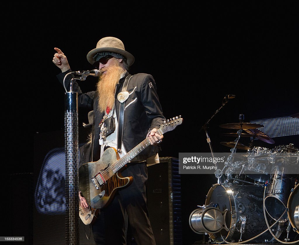 <a gi-track='captionPersonalityLinkClicked' href=/galleries/search?phrase=Billy+Gibbons&family=editorial&specificpeople=242873 ng-click='$event.stopPropagation()'>Billy Gibbons</a> of ZZ Top performs at the Akron Civic Theatre on October 3, 2012 in Akron, Ohio.