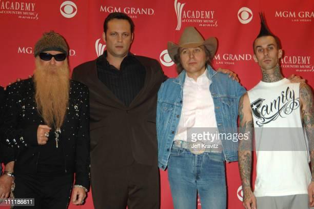 Billy Gibbons Vince Vaughn Dwight Yoakam and Travis Barker