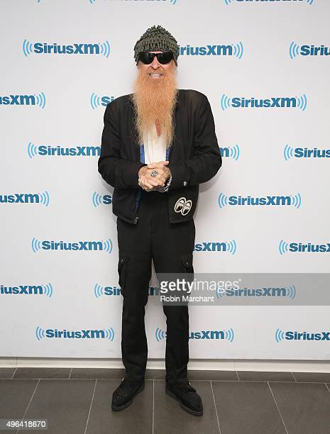 Billy Gibbons visits at SiriusXM Studios on November 6 2015 in New York City