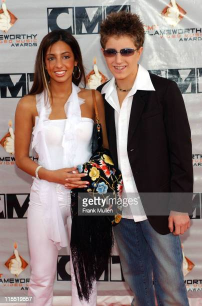 Billy Gillman and guest during 2003 CMT Flameworthy Awards Arrivals at The Gaylord Center in Nashville Tennessee United States
