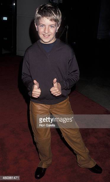 Billy Gillman attends Second Annual Family Television Awards on August 2 2000 at the Beverly Hilton Hotel in Beverly Hills California
