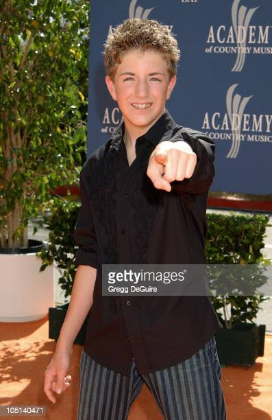 Billy Gilman during 38th Annual Academy of Country Music Awards Arrivals at Mandalay Bay Event Center in Las Vegas Nevada United States