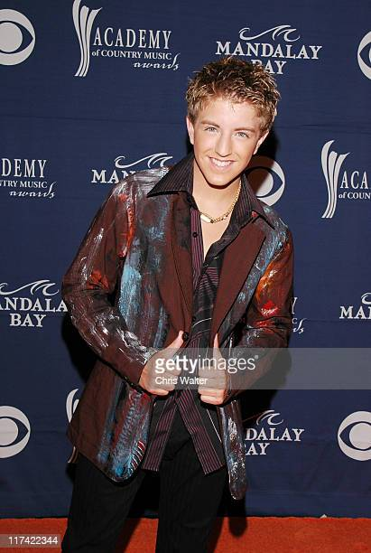 Billy Gilman during 40th Annual Academy of Country Music Awards Arrivals at Mandalay Bay Resort and Casino Events Center in Las Vegas Nevada United...