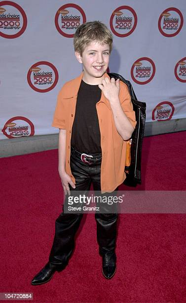 Billy Gilman during The 13th Annual Kids Choice Awards at Century Plaza Hotel in Century City California United States