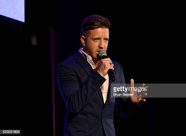 Billy Gilman performs onstage at Point Honors Gala honors Greg Louganis and Pete Nowalk on April 11 2016 in New York City