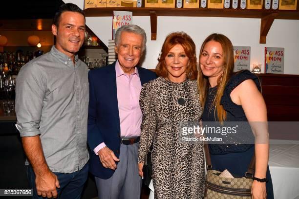 Billy Hessler Regis Philbin Joy Philbin and Elissa Shapiro attend Michael Gelman Celebrates The Launch Of CLASS MOM A Novel By Laurie Gelman at Loi...