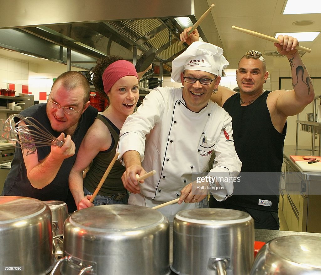 Stomp Performs In Hotel Kitchen Photos And Images Getty Images - Stomp kitchen