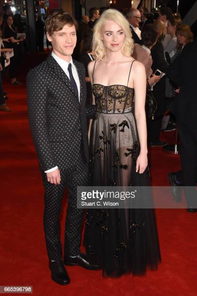 Billy Howle and Freya Mavor attend 2the Gala screening of 'The Sense of an Ending' at Picturehouse Central on April 6 2017 in London England