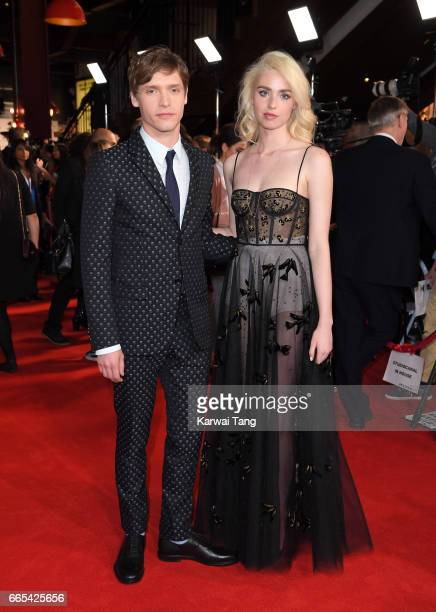 Billy Howle and Freya Mavor attend the Gala screening of 'The Sense of an Ending' at Picturehouse Central on April 6 2017 in London England