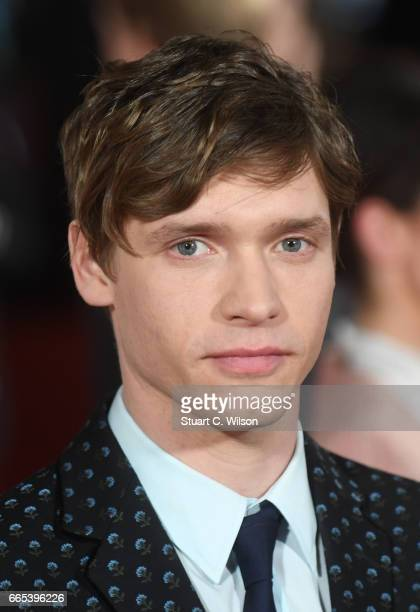 Billy Howle attends the Gala screening of 'The Sense of an Ending' at Picturehouse Central on April 6 2017 in London England