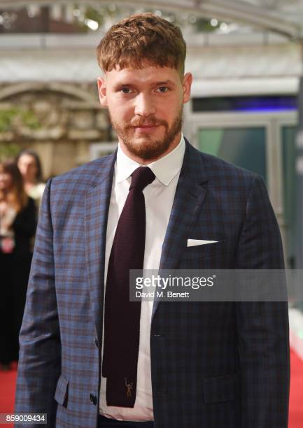 Billy Howle attends the Love Gala European Premiere of 'On Chesil Beach' during the 61st BFI London Film Festival at the Embankment Gardens Cinema on...