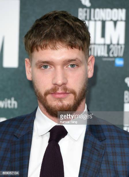 Billy Howle attends the Love Gala European Premiere of 'On Chesil Beach' during the 61st BFI London Film Festival at Embankment Gardens Cinema on...