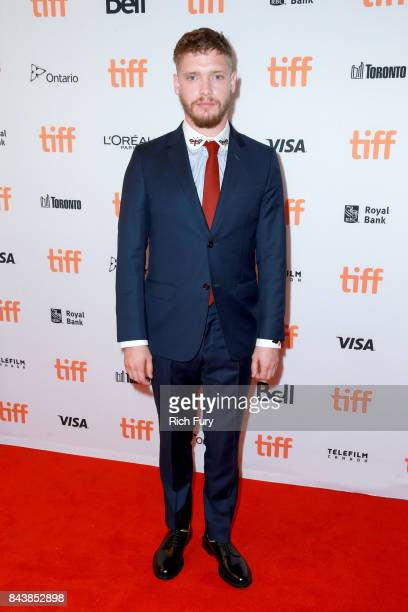 Billy Howle attends the 'On Chesil Beach' premiere during the 2017 Toronto International Film Festival at Winter Garden Theatre on September 7 2017...