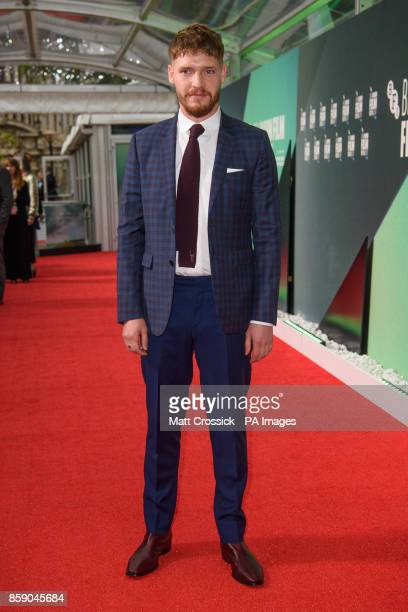 Billy Howle attends the premiere of On Chesil Beach as part of the BFI London Film Festival at the Embankment Garden Cinema London