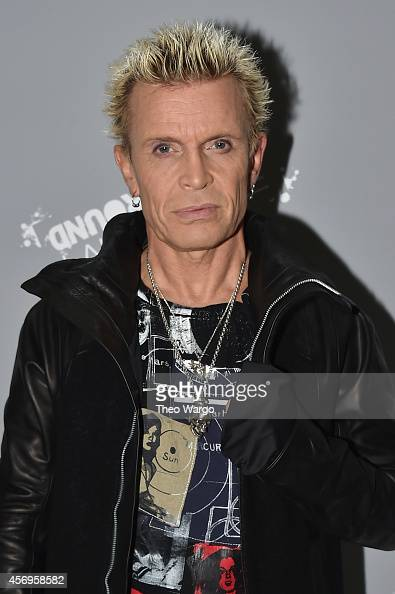 Billy Idol attends CBGB Music Film Festival 2014 HQ Kickoff event with Keynote Speaker Billy Idol on October 9 2014 in New York City