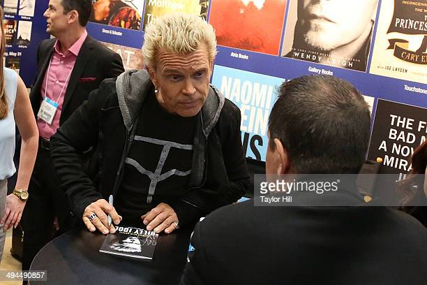 Billy Idol attends day 1 of the 2014 Bookexpo America at The Jacob K Javits Convention Center on May 29 2014 in New York City