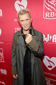 Billy Idol attends MusiCares MAP Fund Benefit Concert at Best Buy Theater on May 28 2015 in New York City All proceeds from this concert will benefit...