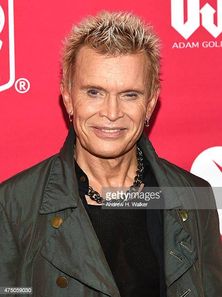 Billy Idol attends the 11th Annual Musicares Map Fund Benefit concert at Best Buy Theater on May 28 2015 in New York City