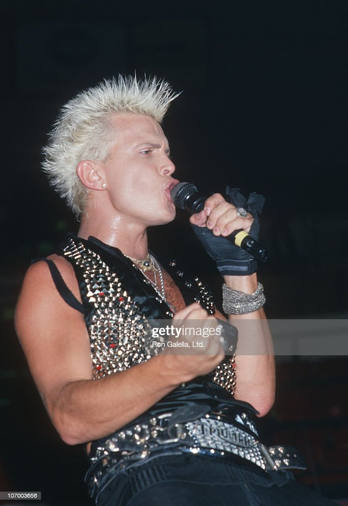 Billy Idol during Billy Idol in Concert at Madison Square Garden in New York City - August 8, 1987 at Madison Square Garden in New York City, New York, United States.