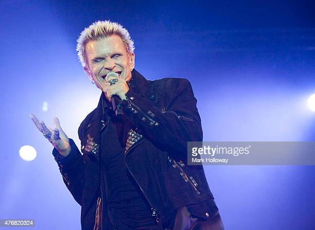 Billy Idol Perfoms at the IOW Festival at Seaclose Park on June 11 2015 in Newport United Kingdom