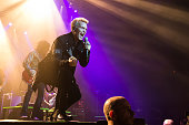 Billy Idol performs at Le Zenith on June 22 2015 in Paris France