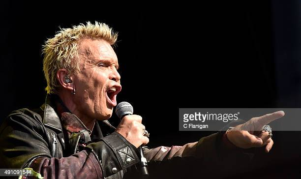 Billy Idol performs during the 2015 Austin City Limits Music Festival at Zilker Park on October 2 2015 in Austin Texas