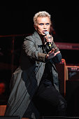 Billy Idol performs onstage during the MusiCares MAP Fund Benefit Concert at Best Buy Theater on May 28 2015 in New York City All proceeds from this...