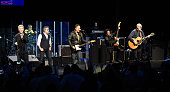 Billy Idol Robert Daltrey Bruce Springsteen Willie Nile and Pete Townshend perform onstage during MusiCares MAP Fund Benefit Concert at Best Buy...