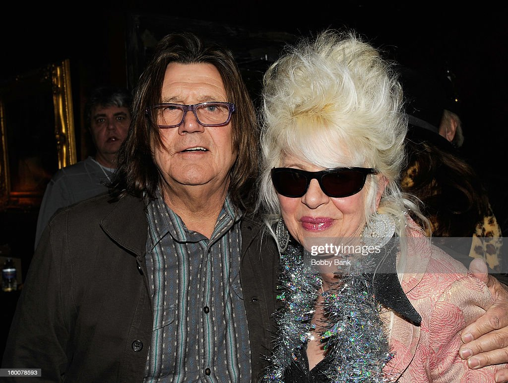 Billy J. Kramer and Christine Ohlman performs at The Cutting Room on January 25, 2013 in New York, New York.