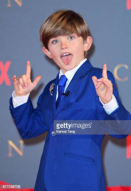 Billy Jenkins attends the World Premiere of Netflix's 'The Crown' Season 2 at Odeon Leicester Square on November 21 2017 in London England