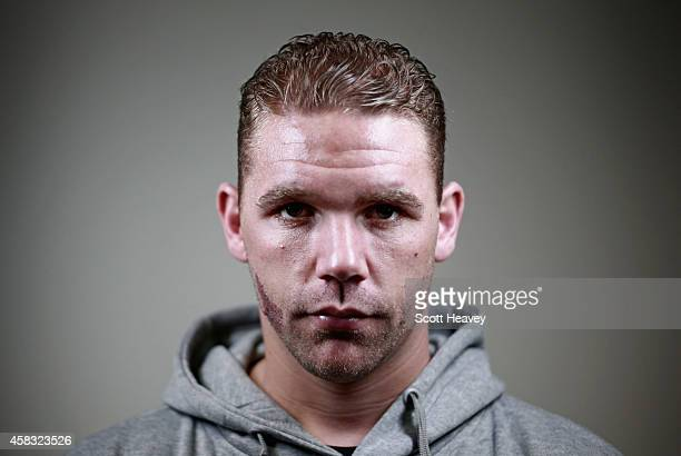 Billy Joe Saunders during a press conference at London ExCel on November 3 2014 in London England