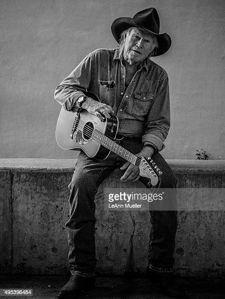 Billy Joe Shaver is photographed for Texas Monthly Magazine on September 15 2014 in Austin Texas