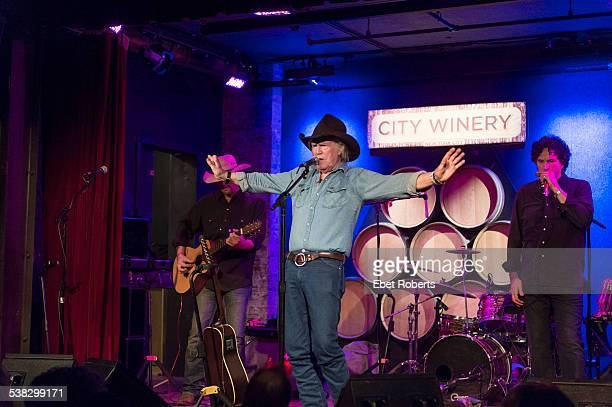 Billy Joe Shaver performing with Mickey Raphael on Harmonica at the City Winery in New York City on December 17 2014