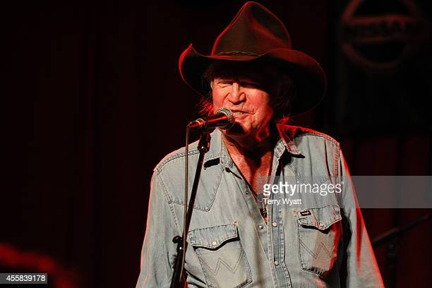 Billy Joe Shaver performs at the 15th Annual Americana Music Festival Conference on September 20 2014 in Nashville Tennessee