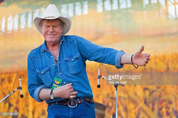 Billy Joe Shaver performs during Farm Aid 2011 at the LiveStrong Sporting Park on August 13 2011 in Kansas City Kansas