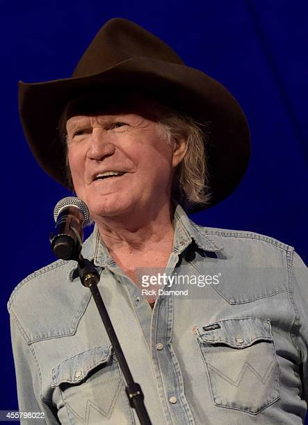 Billy Joe Shaver performs during the Billy Joe Shaver Songwriter Session at the Country Music Hall of Fame and Museum during the Americana Music...