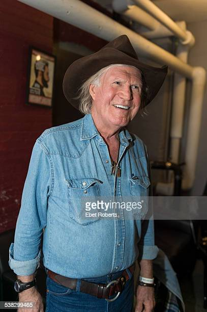 Billy Joe Shaver portrait backstage at the City Winery in New York City on December 17 2014