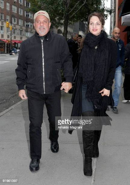Billy Joel and daughter Alexa Ray Joel are seen on October 16 2009 in New York City