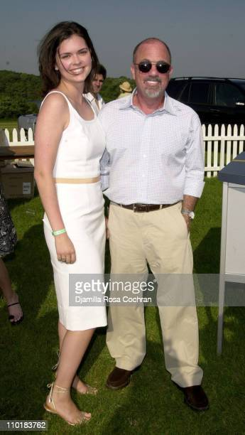 Billy Joel and fiancee Katie Lee during MercedesBenz USA and Kim Cattrall are hosting the opening day of MercedesBenz Polo Challenge at Bridgehampton...