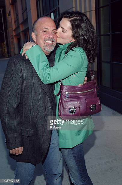 Billy Joel and Katie Joel during Billy Joel in New York City April 12 2005 at Streets of New York in New York City New York United States